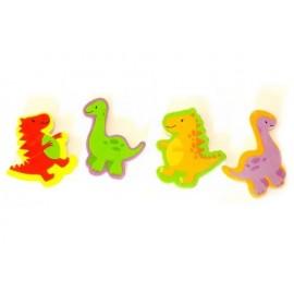 Гумка фігурна Динозаври асорті ООПТ 13346, 158839