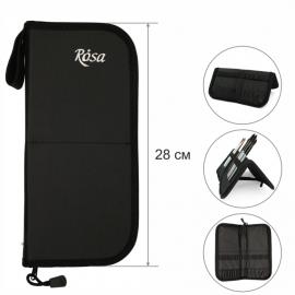 Пенал-холдер для пензлів Rosa 28х28 см тканевий, 2311204
