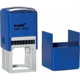 Оснастка для штампа пластикова 40х40 мм з футляром Trodat, printy 4924, 841524