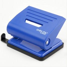 Діркопробивач пластиковий 16 аркушів синій Axent Delta D3616-02, 32473