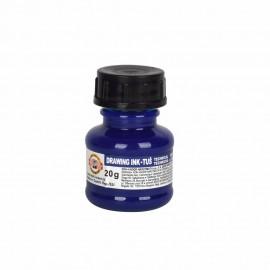 Тушь для черчения, синяя, 20 грамм, Koh-i-noor, 008682