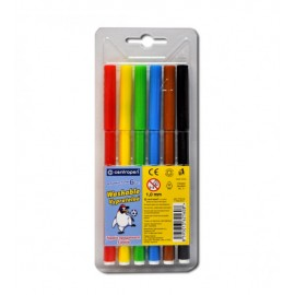 Фломастери 6 кольорів Centropen 7790-06, 540065