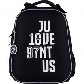 Рюкзак шкільний каркасний з пеналом сумкою для взуття Kite FC Juventus SET_JV21-531M, 48340