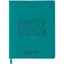 Щоденник шкільний м\'яка обкладинка PU Kite MTV MTV21-283, 48462