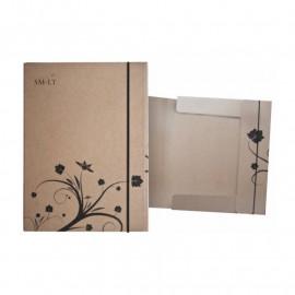Папка А5 картонна на гумках для живопису Smiltainis, 586623