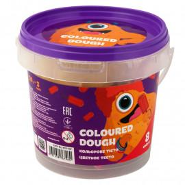 Тісто для ліплення кольорове в пластиковому відрі 8 кольорів по 20 грам Kite Jolliers K19-137, 41058