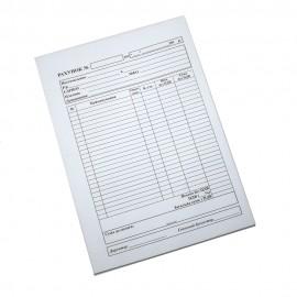 Рахунок А5 100 аркушів самокопіювальний офсетний папір Укрбланк, 702006