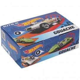 Гуаш 6 кольорів по 20 мл Kite Hot Wheels HW21-062, 47814