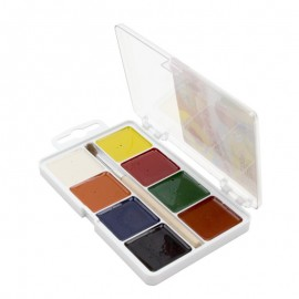 Акварель 8 цветов с кисточкой, Захоплення, Гамма, Западная Промышленная Группа, 312041