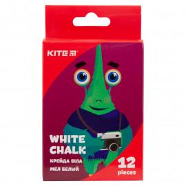 Крейда біла кругла Kite Jolliers 12 штук K19-079-12, 40592