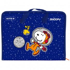 Папка-портфель А4 на блискавці Kite Peanuts Snoopy SN21-202, 47953