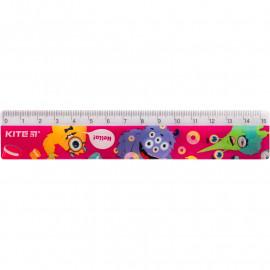 Лінійка пластикова Kite Jolliers 15 см K19-090-1, 40611