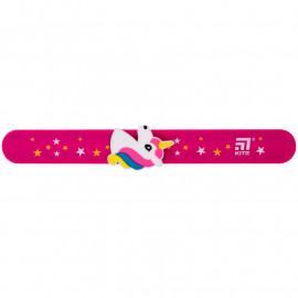 Лінійка-браслет Kite 15 см рожева з фігуркою єдиноріга K20-018, 43495
