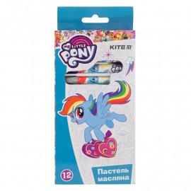Пастелі олійні Kite My Little Pony 12 кольорів LP19-071, 40253