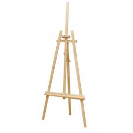 Мольберт стаціонарний № 41А Ліра 71х80х170 см висота полотна 124 см Rosa Studio, 500459469